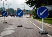 Juuli lõpus muutub liikluskorraldus Russalka juures