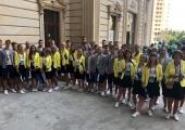 Eesti koondis alustas Euroopa noorte olümpiafestivali