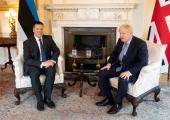 VAATA GALERIID! Peaminister Ratas ja Johnson arutasid kaitsekoostööd ning digiteemasid