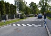 Kristiine tänavatele paigaldati kiiruse ületajate ohjeldamiseks uued teekünnised