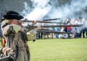 GALERII: Narvas etendati 1704. aasta lahingut Vene ja Rootsi vägede vahel