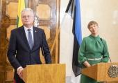 President Kaljulaid Leedu kolleegile: olime vaprad Balti ketis ja seisame nüüd koos demokraatia eest