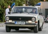 FOTOD: Balti keti tähistamiseks sõitsid vanatehnikahuvilised Vilniusest läbi Riia Tallinnasse