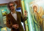 GALERII: Ikooniloolane Orest Kormašov tegi sissejuhatuse ikoonimaailma