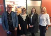 Linna esindajad tutvusid põhjanaabrite sotsiaaltöö korraldusega