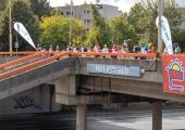 Laagna teed ületaval Pallasti sillal toimus avalöök kampaaniale Nelja Tuule ristirännak