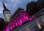 VAATA TÄISPIKKA VIDEOT JA FOTOSID! Jaani kirikus näidati võimsat laseretendust