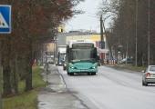 Bussiliini nr 24A ajutine marsruudi muudatus