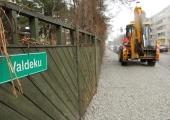 Valdeku tänav avatakse tavaliiklusele detsembri alguses