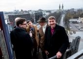 FOTOD JA VIDEO! Tallinn hoidis ära katastroofi – Jaani kiriku torn oleks tormiga Vabaduse väljakule kukkunud