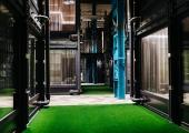 Endisesse veduridepoosse Tallinnas tuleb piire nihutav konteinerhotell