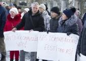 VIDEO JA FOTOD! Inimesed tulid Toompeale M.V.Wooli kalatööstust toetama