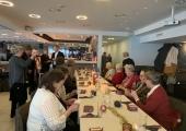 Pirital kogunesid pidulikule jõululõunale soomepoiste lesed
