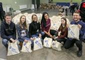 VIDEO JA FOTOD! Põhja-tallinna vabatahtlikud toimetasid eakatele ligi 1300 abipakki