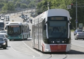 Tallinna uutes trammides saab kasutada tasuta internetti