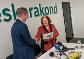 Tallinna linnavolinik Helve Särgava liitus Keskerakonnaga