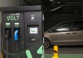 Vabaduse väljaku all ootab elektriautosid kiirlaadija