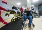 VIDEO! Ida-Tallinna Keskhaigla EMO koridoris toimub kiirabipatsientide vastuvõtt