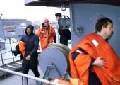 Helme: uppuva kalatraaleri meremeeste päästmine oli meie kohus