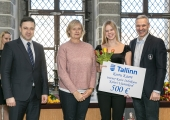 GALERII! Tallinn tunnustas linna parimaid noorsportlasi kokku 31 000 euroga