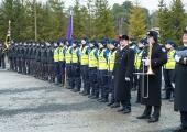 Sisekaitseakadeemias toimus Eesti Vabariigi 102. aastapäeva puhul pidulik rivistus