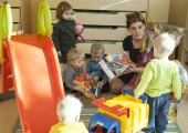 Haabersti linnaosa lasteaialapsed võistlevad esmaabi andmises