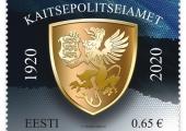 Eesti Post annab Kaitsepolitsei 100. aastapäeva puhul välja postmargi