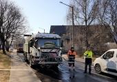 Tallinna kesklinna tänavatel käib teine koristusring
