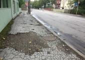 Nõmmel alustatakse Pärnu maantee kõnnitee taastusremonttöödega