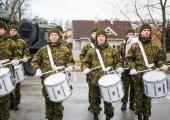 Afganistanis ja Malis teenivad kaitseväelased tähistasid võidupüha