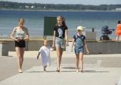 Stroomi rannapargis toimub suvelaat ja lastejooks