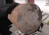 VIDEO! Tatari tänava algusest kaevati välja Shelli tankla kütusemahuti