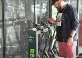VIDEO: Bikeep tõukerattaid saab rentida Radisson Meritoni eest