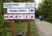 Õismäe raba terviserajal toimub sportlik kogupere orienteerumismäng