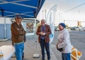 Põhja-Tallinna vanem jätkab värskes õhus elanike vastuvõtuga