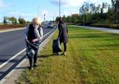 Monika Haukanõmm: Palun ärge loopige suitsukonisid autoaknast välja!