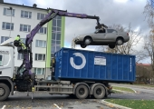 VIDEO! Mustamäe vabaneb romudest ja uinuvatest sõidukitest