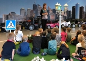 Kesklinna koolieelikud omandasid liikluse põhitõdesid