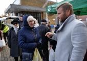 FOTOD JA VIDEO! Mustamäe Linnaosa Valitsuse välikontor tegutses täna Mustamäe turul