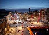Noblessnerisse kerkib Tallinna üks uhkemaid jõulupuid