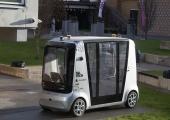 GALERII! TalTechi juhita auto alustas Mustamäel ülikooli linnakus sõitmist
