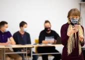 Terviseamet: õpetajad ei pea koolis ilmtingimata maski kandma