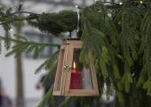 GALERII! Lindakivi platsi jõulupuul süüdati esimese advendi küünal