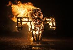FOTOD! Põhja-Tallinn tähistas Tuleahvi aasta tulekut võimsa tuleshowga