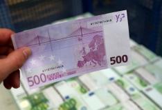 Euroopa Keskpank lõpetab 500-euroste trükkimise