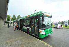 Buss nr 1A suunatakse ümbersõidule