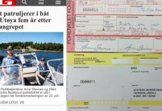 Päästevestita merele läinud politseinik tegi endale trahvi
