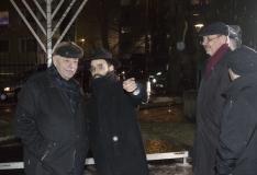 FOTOD! Linnapea süütas Tallinna sünagoogis esimese Hanuka-küünla