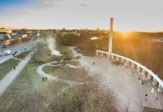 Vabariigi aastapäeval süüdatakse tuli Jüriöö pargis