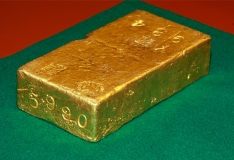 Eesti Pank näitab vabariigi sünnipäeva puhul ajaloolist kullakangi